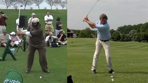 one plane golf swing setup 1000 images about moe norman swing pictures images on