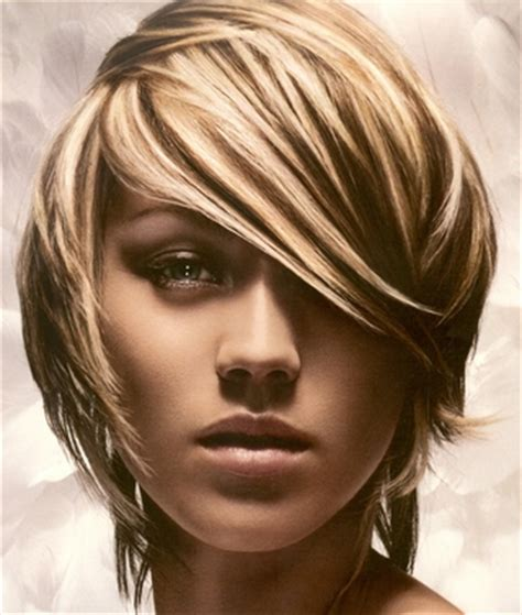 chunky hilites for the front of short hair short hairstyle of 2011 chunky highlights for short hair
