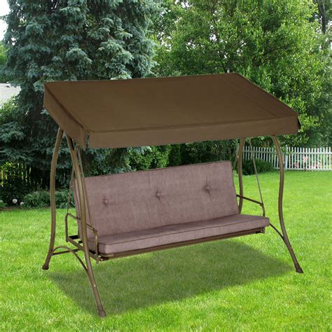 replacement canopy  living accents hammock swing garden