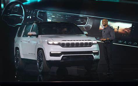 jeep grand wagoneer woody rendered fca design boss