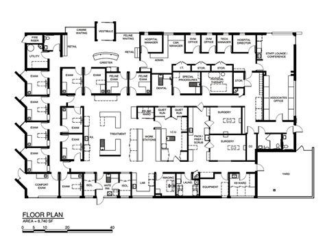 vet clinic floor plans pin veterinary clinic floor plans on pinterest