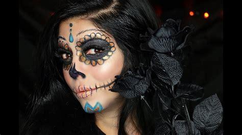 makeup dia diy dia de los muertos makeup tutorial saubhaya makeup