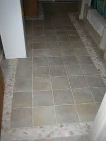 bathroom floor tile border beach style bathroom