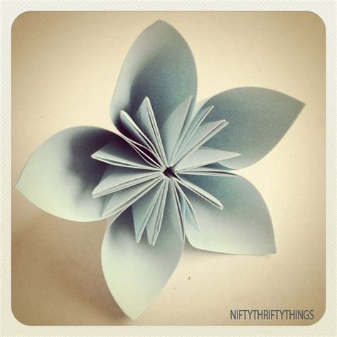 Pretty Origami Flowers - what cha ma craft it beautiful origami flowers