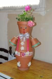 Bonhomme En Pot De Fleur