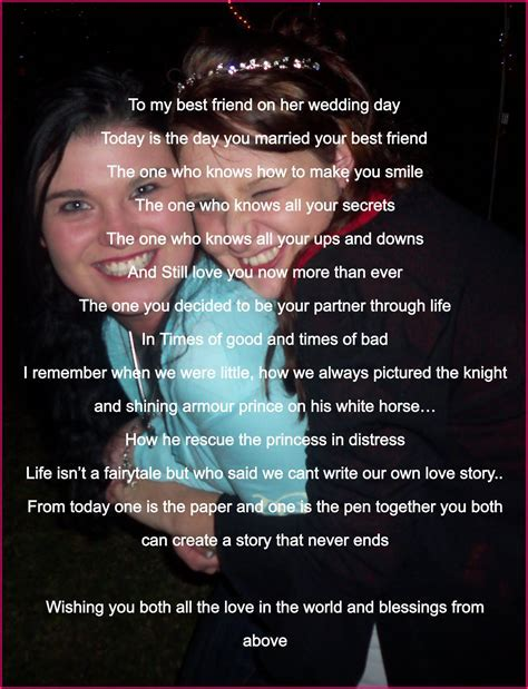 Phoenix Poems: To my best friend on her wedding day *