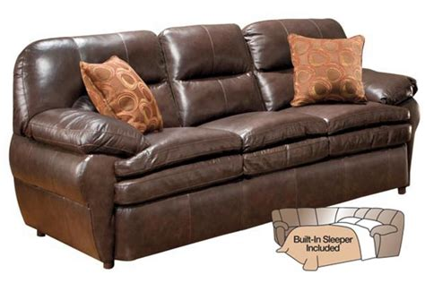 Leather Sleeper Chairs by Seville Leather Sleeper Sofa