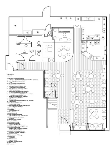 Convenience Store Floor Plans by Cafe Mud Cafe Mud Floor Plan And Interior Design Rough
