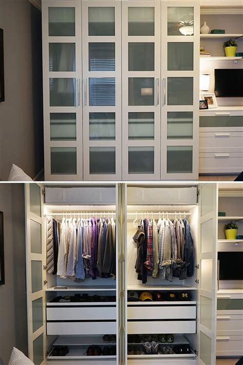 Wardrobe Storage Ikea - the ikea home tour squad built a custom pax wardrobe in