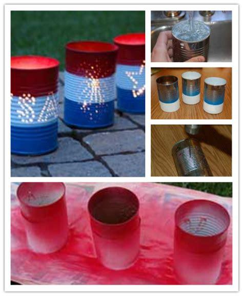 diy tin can crafts diy tin can luminaries craft tutorial diy tag