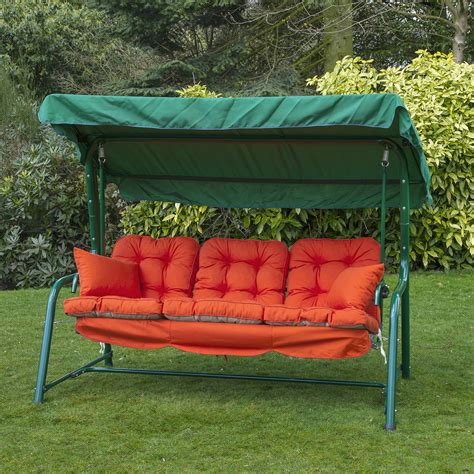 garden swing replacement seat garden 3 seater replacement swing seat hammock cushion set