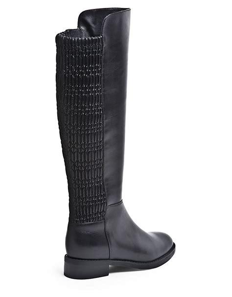 blondo elenor waterproof stretch leather knee high boots
