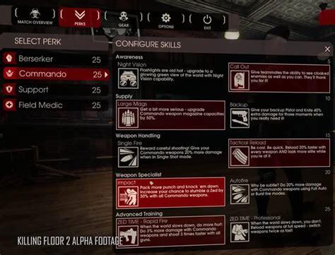 killing floor 2 の武器とperkにスポットを当てた開発映像のパート2が公開 171 doope