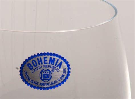 bicchieri boemia calici di boemia 183 artanticaartantica