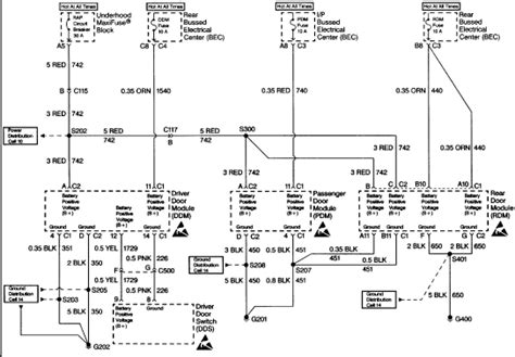 1999 buick park wiring diagram 1999 free engine image