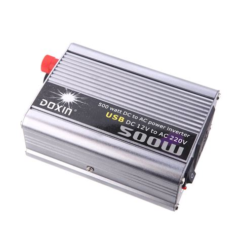 Ac Portable Watt k7750 doxin 500w max watt dc 12v to 220v portable ac car