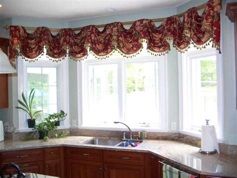 Swag Curtains For Kitchen Windows Kitchen Window Swag Curtains Curtain Menzilperde Net