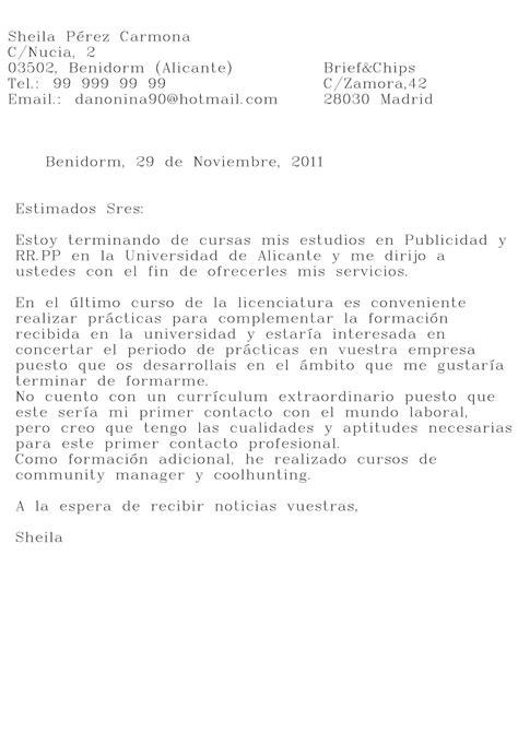 carta de presentacion laboral primer empleo ejemplo de carta de motivaci 243 n para primer empleo ejemplos de