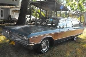 Chrysler Town And Country Wagon 2 Owner 1968 Chrysler Town Country Wagon Bring A Trailer