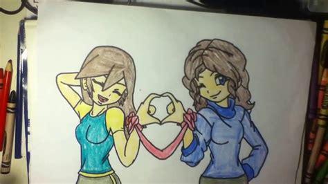 Easy Friendship Drawings