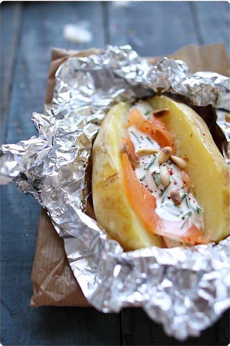 Pavé Saumon Grillé Four by Best 25 Baked Potatoes Ideas On Baked Potato