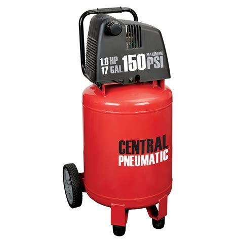 17 gal 1 8 hp 150 psi oilless air compressor