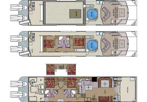 houseboat floor plans custom houseboat sales and manufacturing floorplans