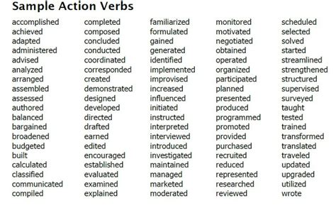 verb exles for f f info 2017