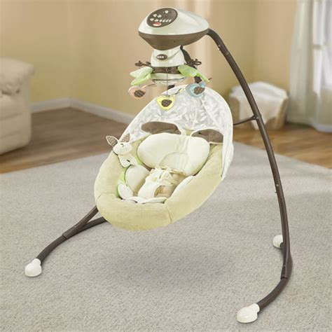 fisher price my little snugabunny cradle swing my little snugabunny cradle n swing with smart swing