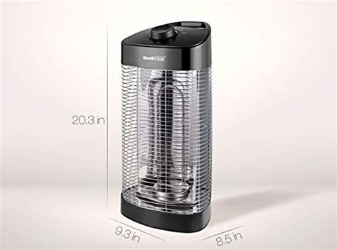 geek heat outdoor infrared heater oscillating electric