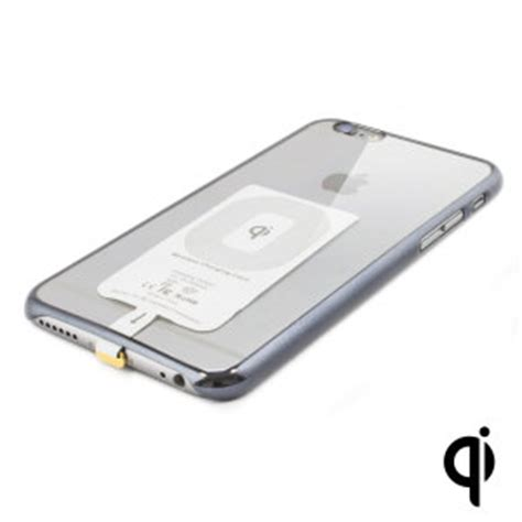 qi compatible iphone 6s plus 6 plus wireless charging adapter