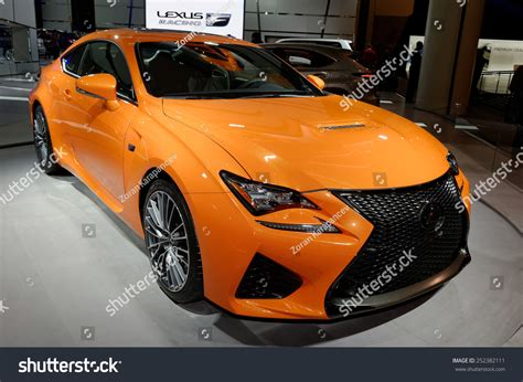lexus rcf sedan toronto february 12 at the 2015 canadian international