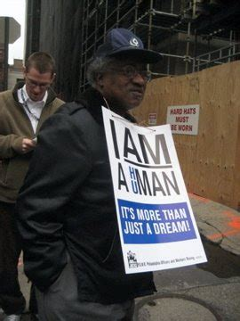Allied Barton Security Guard by Philadelphia With Justice I Am A Human 04 04 08 Mlk Commemoration Service And March