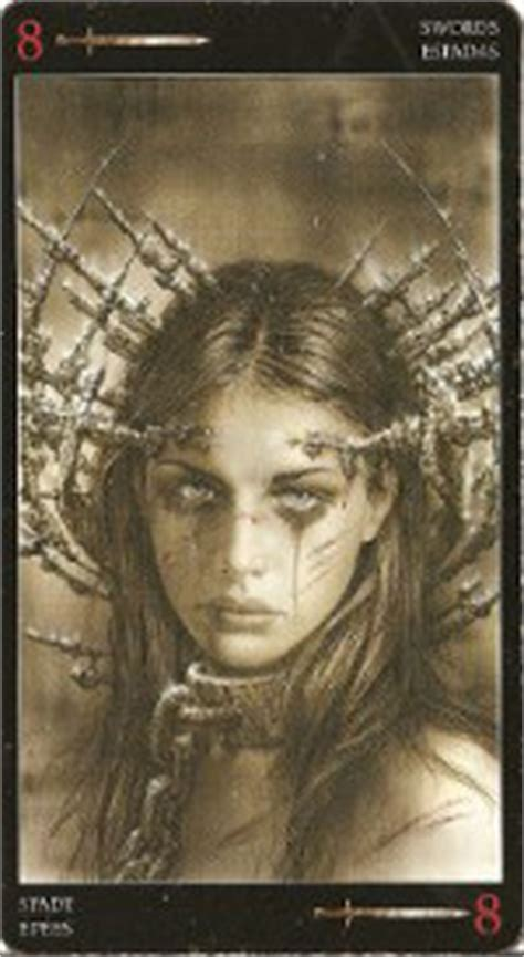 royo dark tarot deck 073873361x mini royo dark tarot