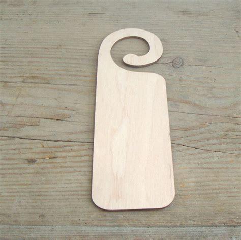 wooden door hanger wood blank set of 3 wedding decor diy