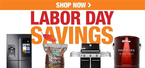 labor day savings the home depot