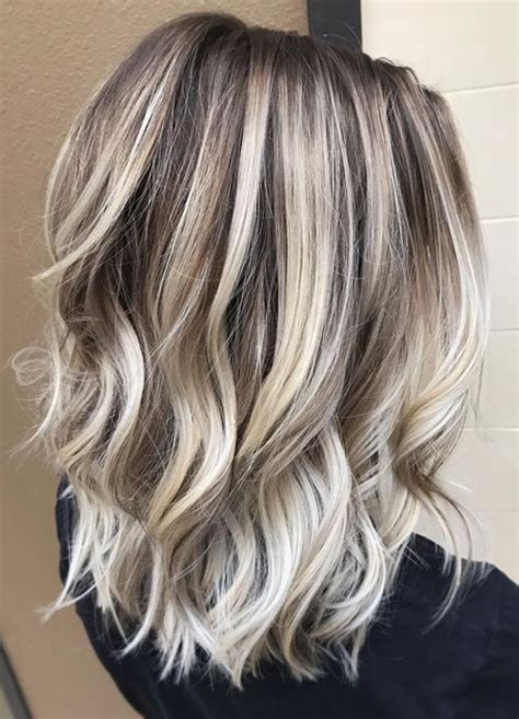 hair styles with frost color hottest hair colors for medium hairstyles 2017 spring summer