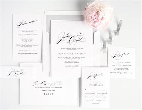 wedding invitation sample square landscape flower trees pictures