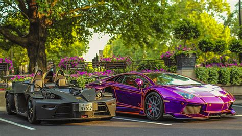 glow in the paint qatar if i were rich i would own this purple lamborghini that