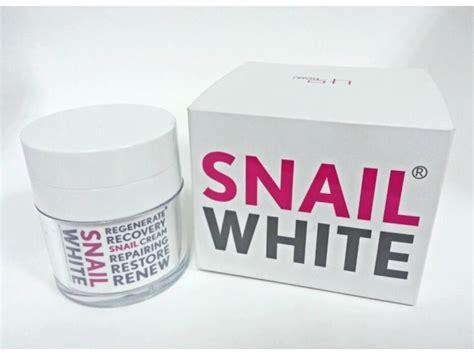 Snail White Original Thailand 5 Gram 1 50g namu snail white regenerate renew repair whitening ebay