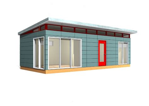 Modern Prefab Shed Kits by Prefab Building Kit 14 X 30 Modern Shed Prefab