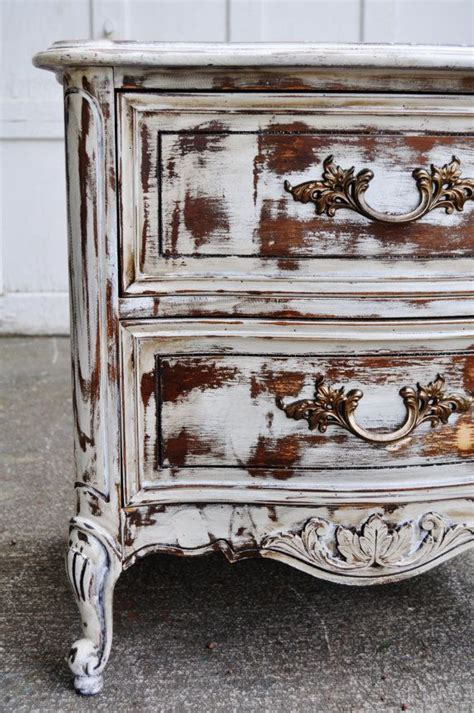 centerpiece hand painted end tables distressed white rustic of with pictures simple living room 234 best images about decorating with distressed furniture