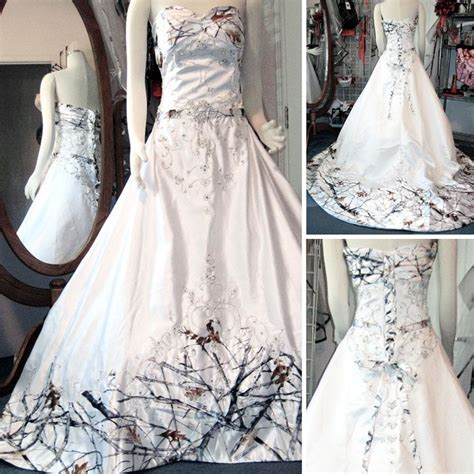White Camo Wedding Dresses by 25 Best Ideas About Camo Wedding Dresses On