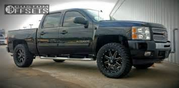 wheel offset 2011 chevrolet silverado 1500 slightly