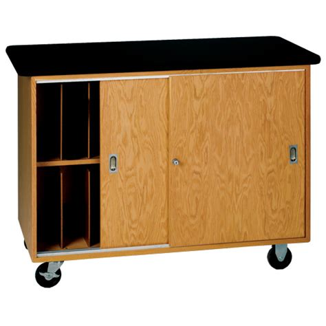Computer Storage Cabinet Mobile Laptop Storage Cabinet