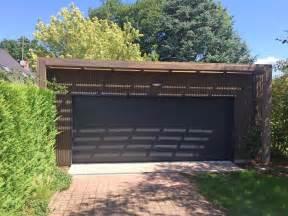 garage bois toit plat extension garage 224 toit plat en ossature bois 224 olivet 45210