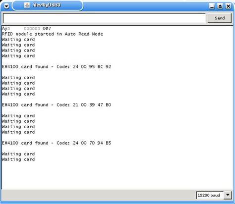 serial read rfid 125khz module for arduino and raspberry pi