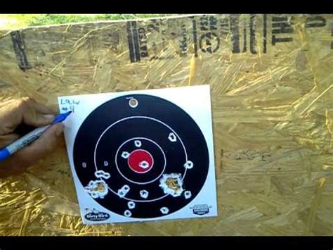 buckshot pattern youtube buckshot pattern test part 1 youtube
