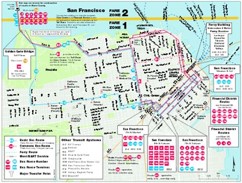 san francisco map attractions pdf map san francisco michigan map