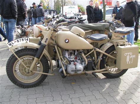 Motorrad Tage Rostock by Bmw R51 3 Mit Seitenwagen Baujahr 1951 2 Zyl Boxer Motor